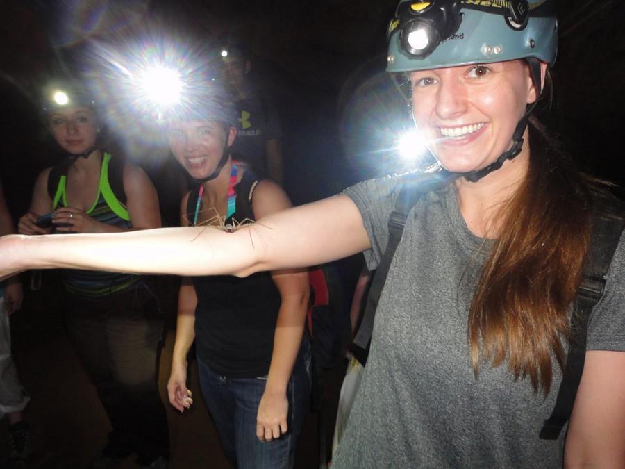 Hannah's Adventure at Caves Branch