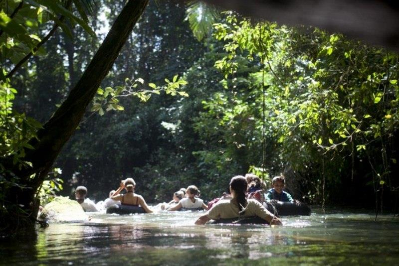 Belize cave tubing – the longest in the country
