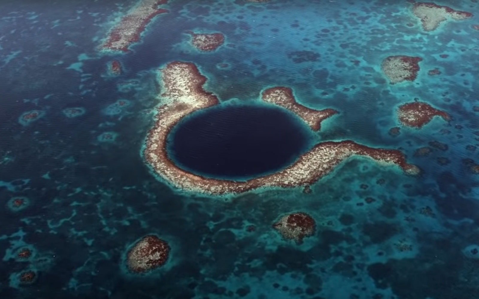 Into the Blue Hole of Belize